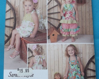 Just  Like Me! Little Girls's Dress with Matching Doll Dress