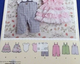 Baby Romper, Jumper and Knit Body Suit