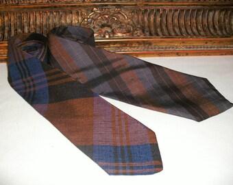 Vintage 1970's Men's Silk Skinny Ties