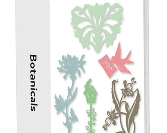 Cricut Lite Botanicals Cartridge - Brand New - In Blister Package - Perfect for capturing the freshness of a garden!