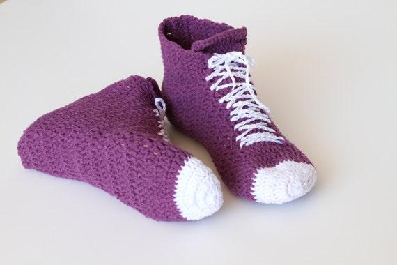 38ad13550deaf1 High Top Slippers Crochet Pattern