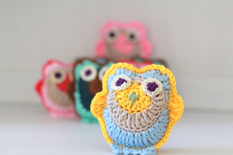 Amigurumi Tutorial For Beginners Owl : Amigurumi Owl PDF Kawaii Owl Plushie Tutorial Beginners