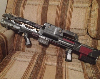 Space Marine Heavy Assault Cannon-painted Nerf Deploy / Longshot- Rocket Raccoon Cannon