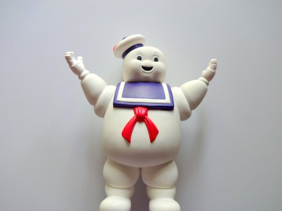 Vintage Stay Puft Marshmallow Man Toy 1984