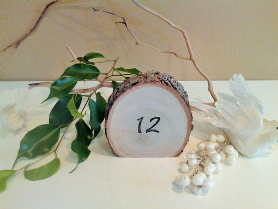 12 wood table numbers wedding table numbers rustic for 12 days of christmas table numbers