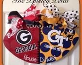 Football Door Hanger / House Divided