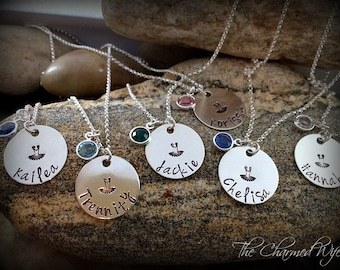 Personalized Ballerina Dance Jewelry - Hand Stamped Tutu Necklace - Dance Recital Gift Ideas - Dance Team Jewelry - Ballet Jewerly