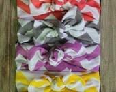Sale/Baby knotted Headbands / Baby turban Headbands / Baby Girl Head Wraps / Baby Headwrap / Headbands for Baby Girls / Baby Bow Headbands
