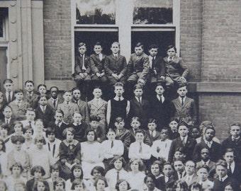 1920s School Class Photograph