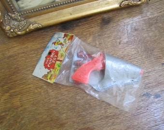 Still Sealed Dime Store Toy Gun in Holster. Made in Hong Kong