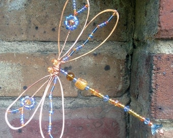 Dragonfly sun catcher