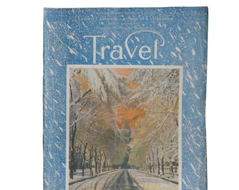 Vintage Magazine Travel -  December 1917 - California, Colorado and the Pictorial Tour of the Netherlands - 48 Page Paper Ephemera