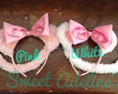 Angelina Ballerina Ears and Tail for dress up, party favors, Halloween