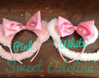 Mouse Ears and Tail for dress up, party favors, Halloween