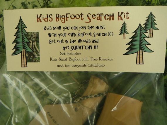 Bigfoot Kids Bigfoot Search Kit Squatch Bigfoot Yowie Call