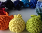 Cat Toy - Catnip Toy - Crochet Cat Toy - Catnip Mouse Toy - Assorted Colors - Ready to Ship