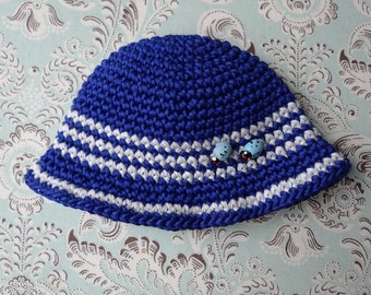 SALE % Blue Ladybird and Bow Blythe Hat