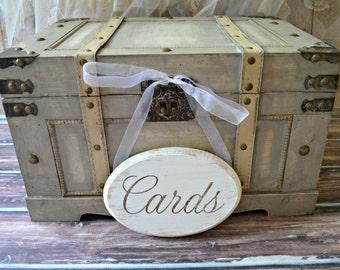 Wedding-cards-sign-trunk-bird cage-bird nest-card holder-box-advice-card box-woodland-rustic-natural-garden-wood sign-wedding trunk-large