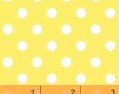 Fat Quarter ONLY - Yellow Dots from Windham Fabrics
