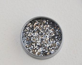 silver glitter (1/2 oz)