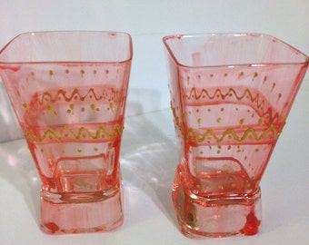 Hand-Painted Glasses