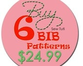 Buy Any 6 Bib Patterns - PDF Patterns