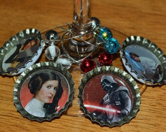 Star Wars Wine Charm Set