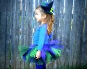 Witch Tutu Set Sizes 18-24 mos - 2/3 - 4/5 - 6/7