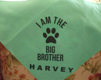Dog Bandana Large - Personalized