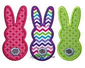 Instant Download Marshmallow Bunny Tails Machine Embroidery Applique Design 4x4, 5x7 and 6x10