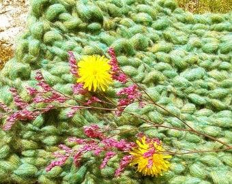 Woodland Baby Blanket Photography Prop | Rustic | Forest Floor Photo Prop