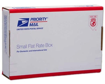 Rush Processing & Priority Mail SHIPPING UPGRADE: Flat Rate Small Box OR Padded Envelope