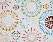 "Fiesta Utensils Custom Curtain Panel - One (1) 42"" wide x 30"" long"