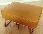 Vintage Adjustable Footstool