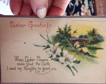 World War I Easter Postcard