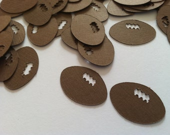 Football Confetti, Sports Confetti, Sports Party, Football Party, Super Bowl Party, Tailgaiting Party Made to Order