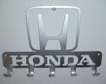 Key Rack Honda Metal Art