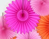 Party Decorations- Tissue Paper Fan Flowers, birthday parties, bridal showers, weddings, baby showers