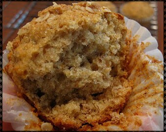 Amish Banana Nut Muffins Recipe~~~Instant Download