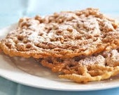 Country Fair Style Funnel Cakes Serving 2 Sizes Holiday Desserts Delicious Snack