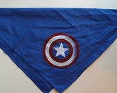 Screen Printed Captain America Bandana