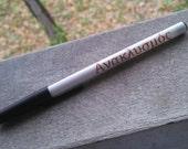 Anaklusmos, Percy Jackson's Pen