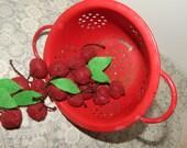 Felt Bing Cherry Play Food