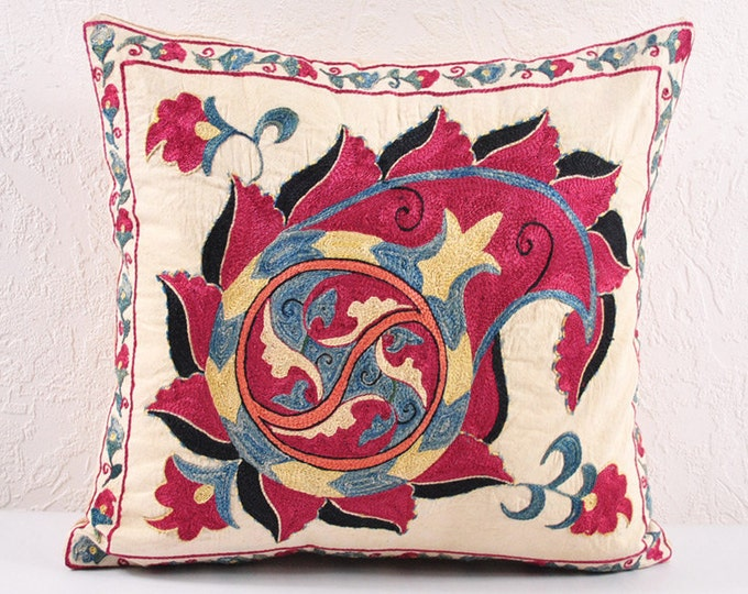Handmade Suzani Pillow Cover ssp103-2