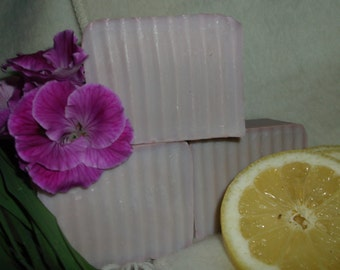 Indian Geranium Handcrafted Soap
