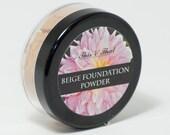 Natural and Organic Powder Foundation- non-toxic, detoxifying, mica free