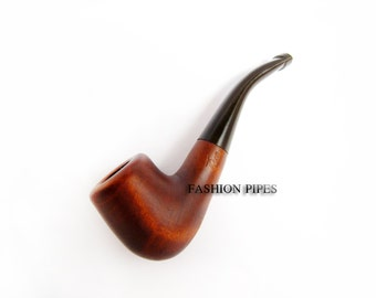 "SALE - Mini Tobacco Pipe/Pipes 4"" Pear wood , Smoking Pipe Classic Wooden pipe/pipes Designed For Pipe Smokers - Best Price in FPS"