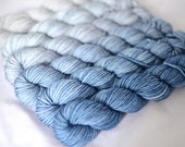 "Gradient Mini Skein Set - ""Mouse Grey Wedgewood"""