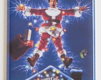 Christmas Vacation Movie Poster Fridge Magnet