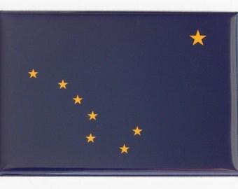 Alaska State Flag Fridge Magnet